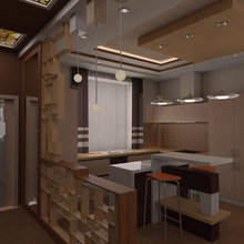 Фото из портфолио Коттедж 3 этажа – фотографии дизайна интерьеров на InMyRoom.ru