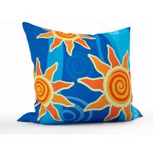 Декоративная подушка: Солнечные подсолнушки