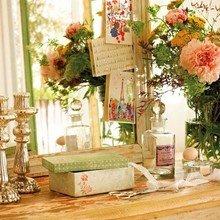 Фотография: Декор в стиле Кантри, Спальня, Интерьер комнат, Терраса, Текстиль, Большие окна – фото на InMyRoom.ru