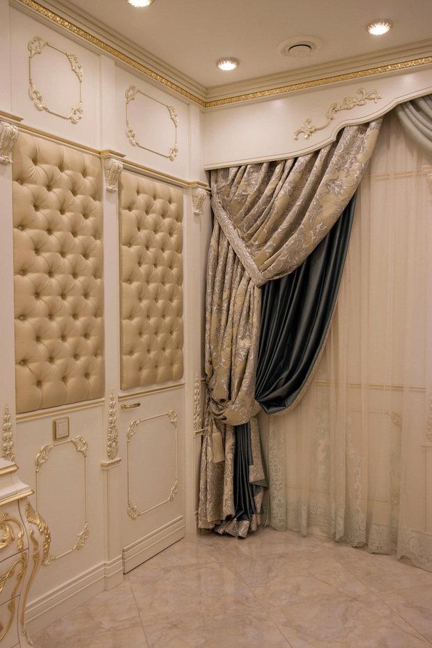 Фото из портфолио Резные двери, окна, стеновые панели и мебель для квартиры в классике – фотографии дизайна интерьеров на INMYROOM