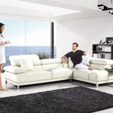 """Фото из портфолио Кожаный угловой диван """"Смартфон"""" – фотографии дизайна интерьеров на INMYROOM"""