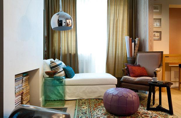 Фотография: Спальня в стиле Эклектика, Ремонт на практике, экономичный ремонт, как сделать ремонт самостоятельно – фото на INMYROOM