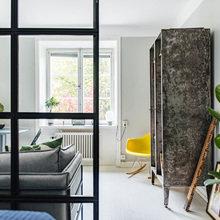 Фотография: Гостиная в стиле Скандинавский, Декор интерьера, Малогабаритная квартира, Квартира – фото на InMyRoom.ru