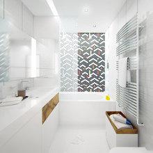 Фото из портфолио Однокомнатная квартира в жилом комплексе «Борисовские пруды» в Москве. – фотографии дизайна интерьеров на InMyRoom.ru