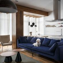 Фотография: Гостиная в стиле Скандинавский, Квартира, Проект недели – фото на InMyRoom.ru