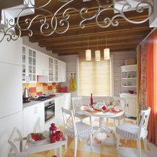 Фотография: Кухня и столовая в стиле Кантри, Классический, Дом, Дома и квартиры, IKEA, Проект недели, Дача, Dulux, Zara Home, Интерьерная Лавка – фото на InMyRoom.ru