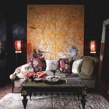 Фотография: Гостиная в стиле Восточный, Советы, Желтый, Виктория Тарасова – фото на InMyRoom.ru