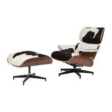 "Кресло ""Eames Lounge Chair & Ottoman """