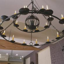 Фотография: Мебель и свет в стиле Кантри, Современный, Квартира, Дома и квартиры – фото на InMyRoom.ru