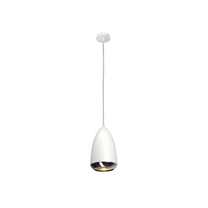 Светильник подвесной SLV Ovo белый / хром