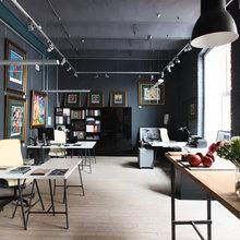Фото из портфолио Офис на Трёхгорной мануфактуре. – фотографии дизайна интерьеров на INMYROOM