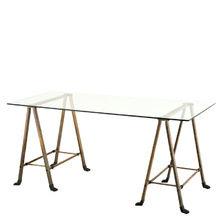 """Письменный стол Eichholtz """"Desk Lorentz"""" с каркасом из металла"""