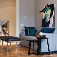 Фотография: Гостиная в стиле Современный, Квартира, Декор, Проект недели – фото на InMyRoom.ru
