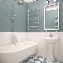 Фото из портфолио Скандинавский стиль. Квартира в многоэтажном доме.  – фотографии дизайна интерьеров на InMyRoom.ru