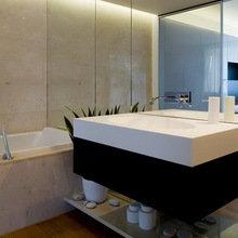 Фотография: Ванная в стиле Минимализм, Квартира, Дома и квартиры, Москва – фото на InMyRoom.ru