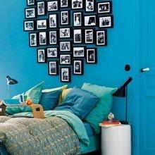 Фотография: Спальня в стиле Кантри, Детская, Декор интерьера, Интерьер комнат, Цвет в интерьере, Стены – фото на InMyRoom.ru