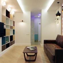 Фотография: Гостиная в стиле Современный, Квартира, Проект недели, Химки, SPACE4LIFE – фото на InMyRoom.ru