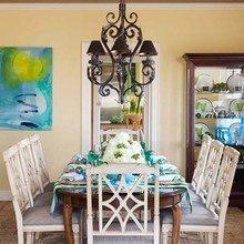 Фотография: Кухня и столовая в стиле Кантри, Декор интерьера, Праздник – фото на InMyRoom.ru