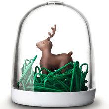 Держатель для скрепок deer in the forest