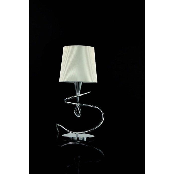 """Настольная лампа Mantra """"Mara Chrome - White"""""""