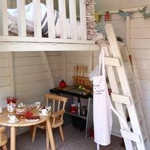 Фотография: Кухня и столовая в стиле Кантри, Детская, Интерьер комнат – фото на InMyRoom.ru