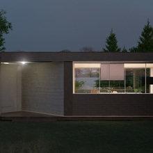 Фото из портфолио Проектирование летней кухни – фотографии дизайна интерьеров на INMYROOM