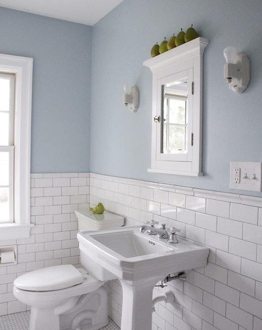 Фотография: Прочее в стиле , Ванная, Интерьер комнат, Мебель и свет, Цвет в интерьере – фото на InMyRoom.ru