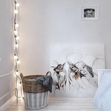 Фотография: Спальня в стиле Скандинавский, Квартира, Дома и квартиры, Проект недели – фото на InMyRoom.ru