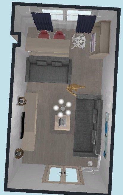 Помогите с планировкой гостиной