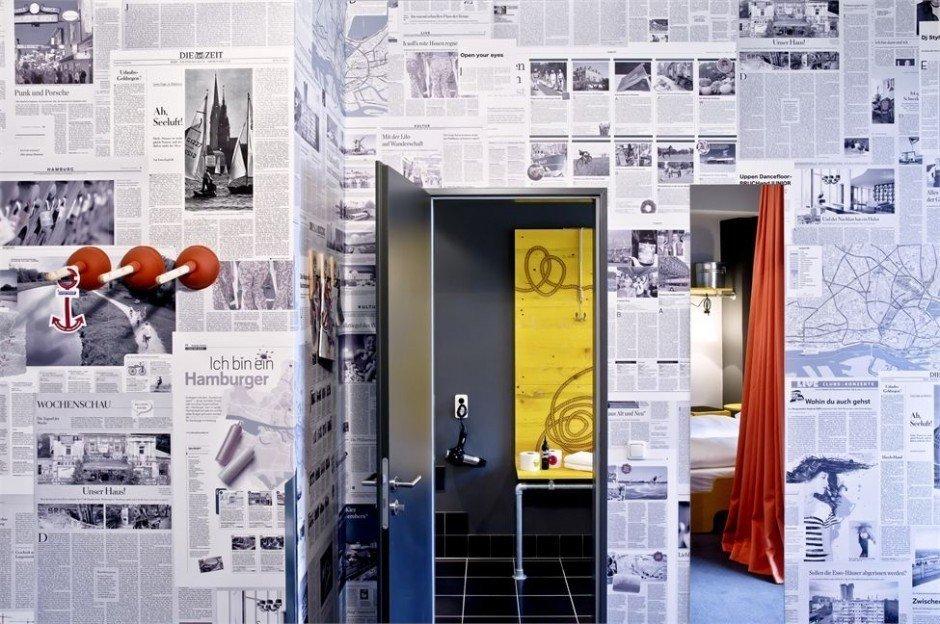 Фотография: Декор в стиле Эклектика, Дома и квартиры, Городские места, Отель, Проект недели, Хостел – фото на InMyRoom.ru