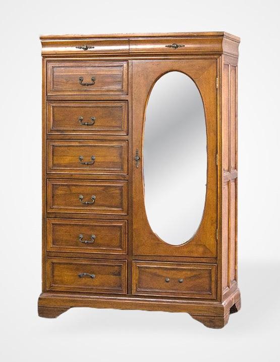 Купить Шкаф для одежды с зеркалом, inmyroom, Вьетнам