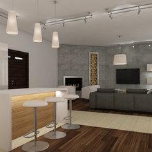 Фото из портфолио Комфортный интерьер частного дома – фотографии дизайна интерьеров на INMYROOM