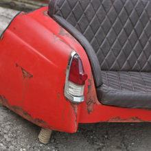 Фото из портфолио Диваны из Волги (ГАЗ-21) – фотографии дизайна интерьеров на INMYROOM