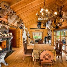 Фото из портфолио Каждый охотник желает дом – фотографии дизайна интерьеров на InMyRoom.ru