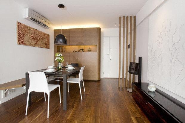 Фотография: Кухня и столовая в стиле Скандинавский, Прихожая, Интерьер комнат – фото на InMyRoom.ru