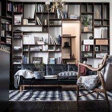 Фото из портфолио Традиционный скандинавский стиль в тёмных тонах – фотографии дизайна интерьеров на InMyRoom.ru