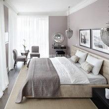 Фотография: Спальня в стиле Современный, Квартира, Текстиль, Дома и квартиры – фото на InMyRoom.ru