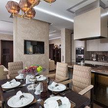 Фотография: Кухня и столовая в стиле Классический, Современный, Эклектика, Квартира, Проект недели – фото на InMyRoom.ru