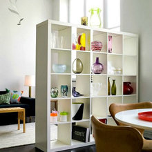 Фотография: Гостиная в стиле Современный, Декор интерьера, Мебель и свет – фото на InMyRoom.ru