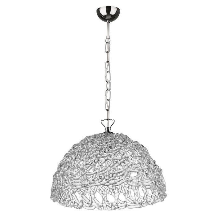 Подвесной светильник Lightstar Murano с декоративным плафоном из стекла