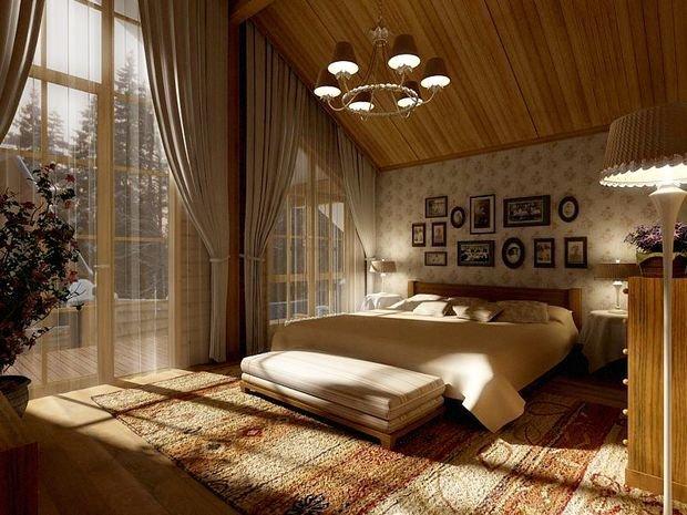 Фотография: Спальня в стиле Классический, Современный, Декор интерьера, Дом, Планировки, Декор, Дача, Особняк, Дом и дача – фото на InMyRoom.ru