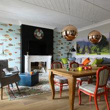 Фото из портфолио Разноцветный интерьер: стильное буйство красок!.... – фотографии дизайна интерьеров на InMyRoom.ru