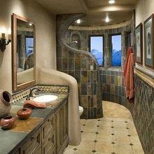 Фотография: Ванная в стиле , Декор интерьера, Мебель и свет, Перегородки – фото на InMyRoom.ru