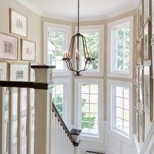 Фотография: Декор в стиле Классический, Современный, Архитектура, Мебель и свет, Ремонт на практике, Никита Морозов, освещение для лестницы, какую выбрать лестницу, какие бывают лестницы, прямая лестница, винтовая лестница, лестница на больцах, подвесная лестница, ограждение для лестниц, как украсить лестницу – фото на InMyRoom.ru
