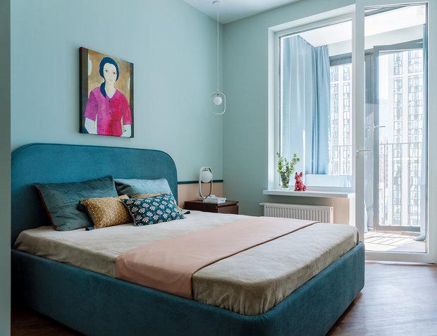 Фотография: Спальня в стиле Современный, Гид, квартира под сдачу, El Born Studio, Света Хабеева, Ольга Калитина, Александра Якушева – фото на INMYROOM
