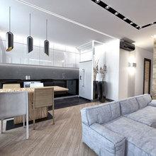 Фото из портфолио Дизайн 2-х комнатной квартиры – фотографии дизайна интерьеров на INMYROOM