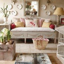 Фотография: Гостиная в стиле Кантри, Декор интерьера, Декор дома, Зеркала – фото на InMyRoom.ru