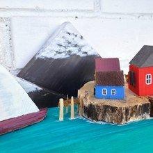Фото из портфолио Скандинавский остров   – фотографии дизайна интерьеров на INMYROOM