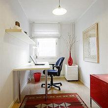 Фотография: Кабинет в стиле Скандинавский, Квартира, Швеция, Дома и квартиры – фото на InMyRoom.ru