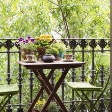 Фотография: Балкон, Терраса в стиле Кантри, Скандинавский, Современный, Интерьер комнат – фото на InMyRoom.ru